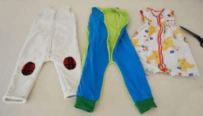 Babyschlafanzug redesign – kostenlos