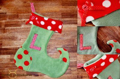 Weihnachtsstiefel selber machen – kostenlos