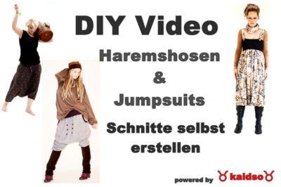 Haremshosen und Jumpsuits – Maßschnittanfertigung