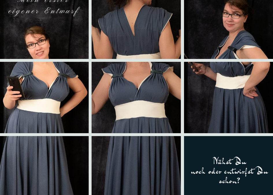 Mein erstes selbst entworfenes Sommerkleid
