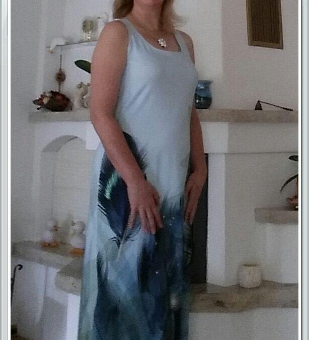 Vom Streichelstoff zum Kleid