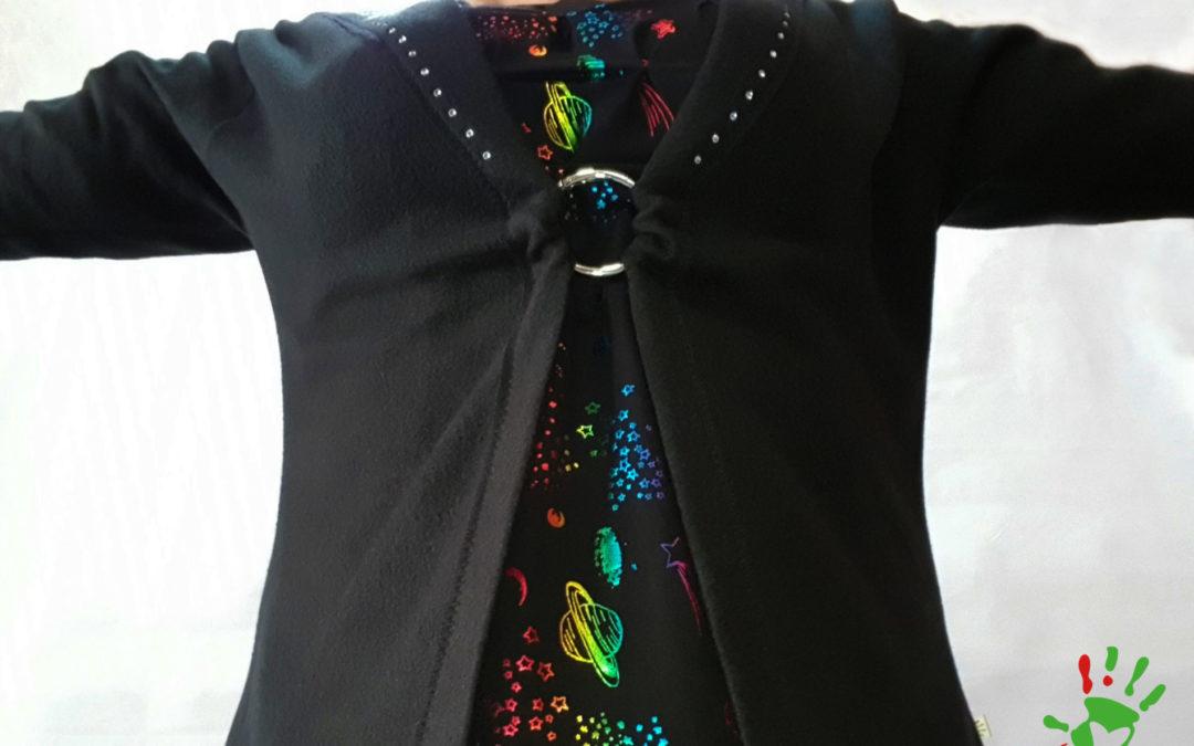 EASYPEASY Shirt mit Cardigan